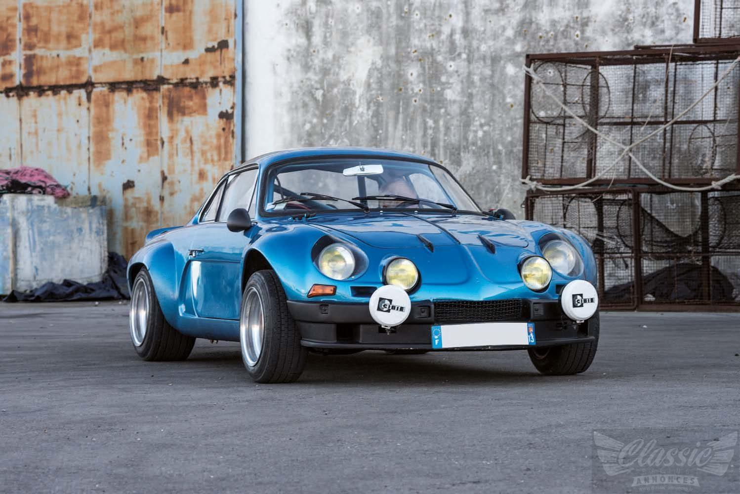 alpine a110 1600 s classic racing annonces. Black Bedroom Furniture Sets. Home Design Ideas