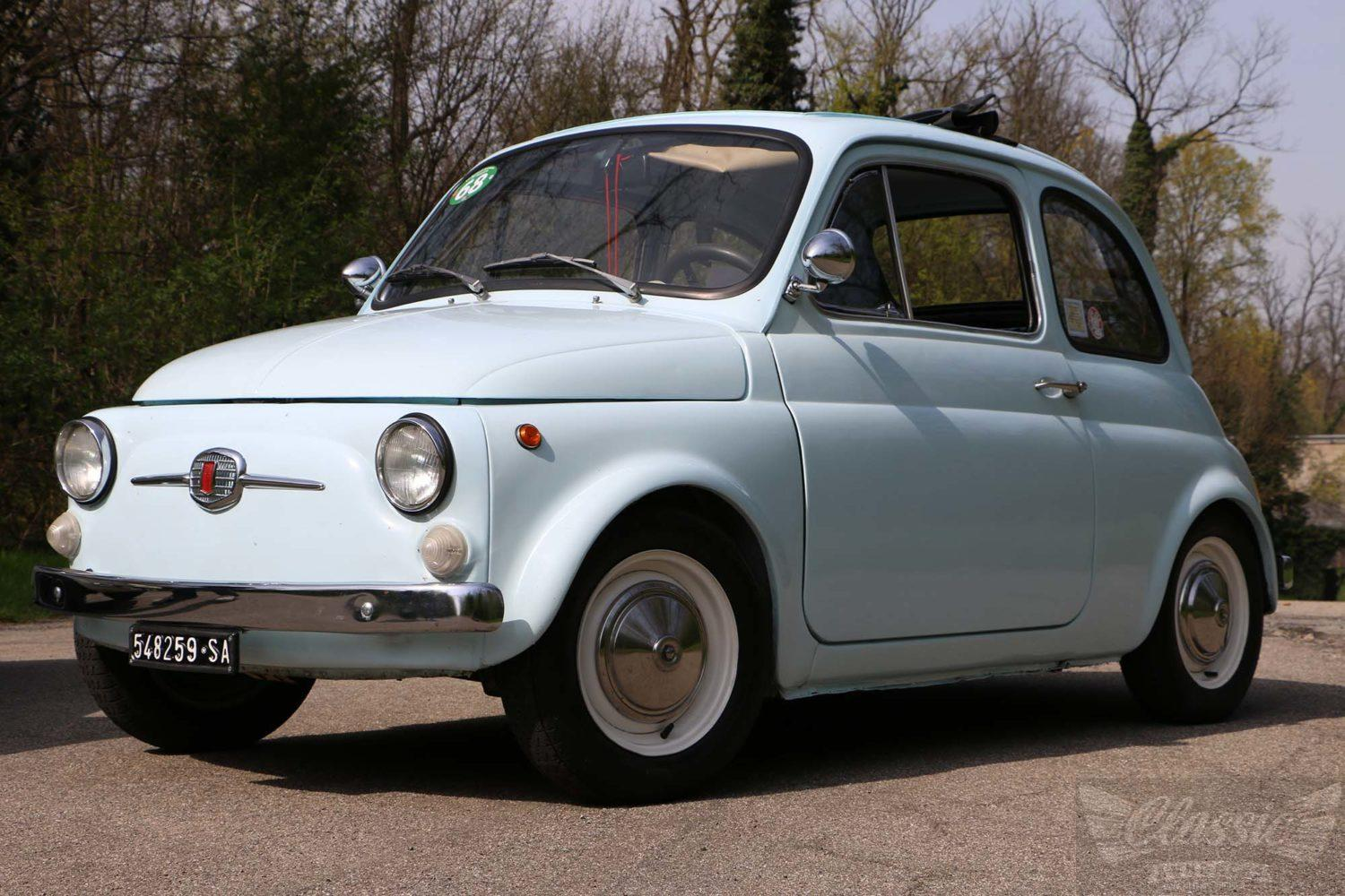 fiat 500 f 8 bolts edition 1965 classic racing annonces. Black Bedroom Furniture Sets. Home Design Ideas