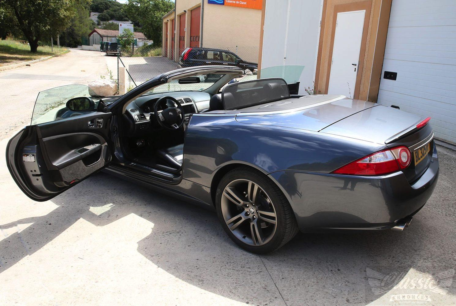 jaguar xkr cabriolet classic racing annonces. Black Bedroom Furniture Sets. Home Design Ideas