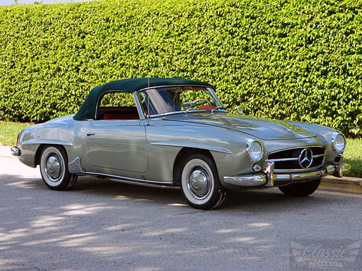 mercedes 190 sl classic racing annonces. Black Bedroom Furniture Sets. Home Design Ideas