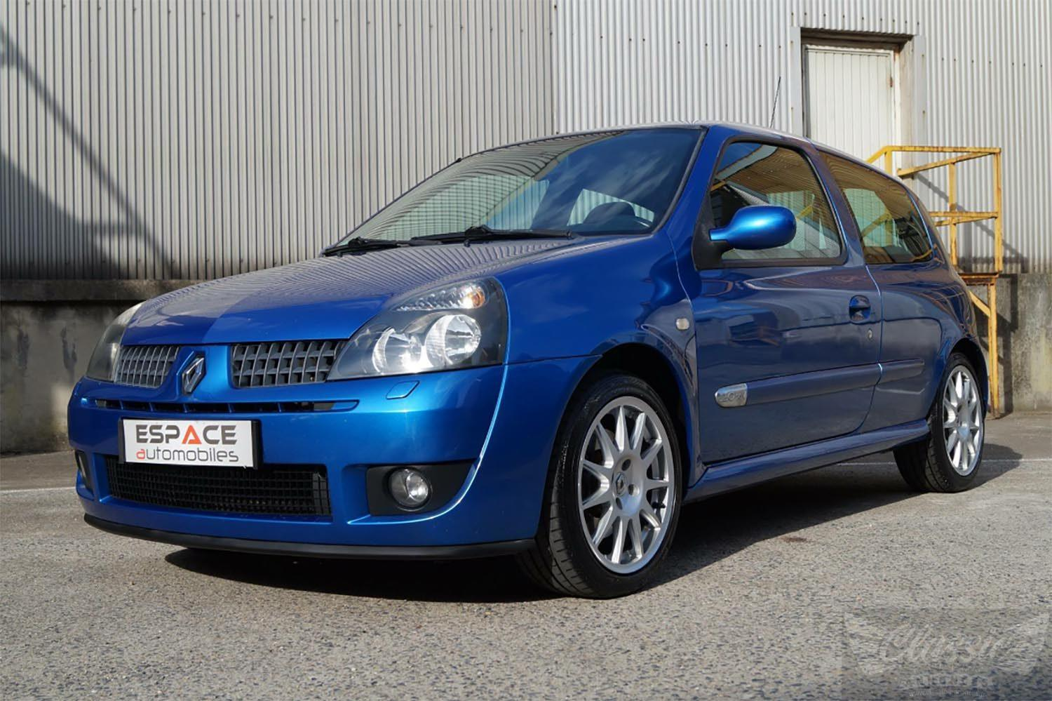renault clio ii rs ragnotti classic racing annonces. Black Bedroom Furniture Sets. Home Design Ideas