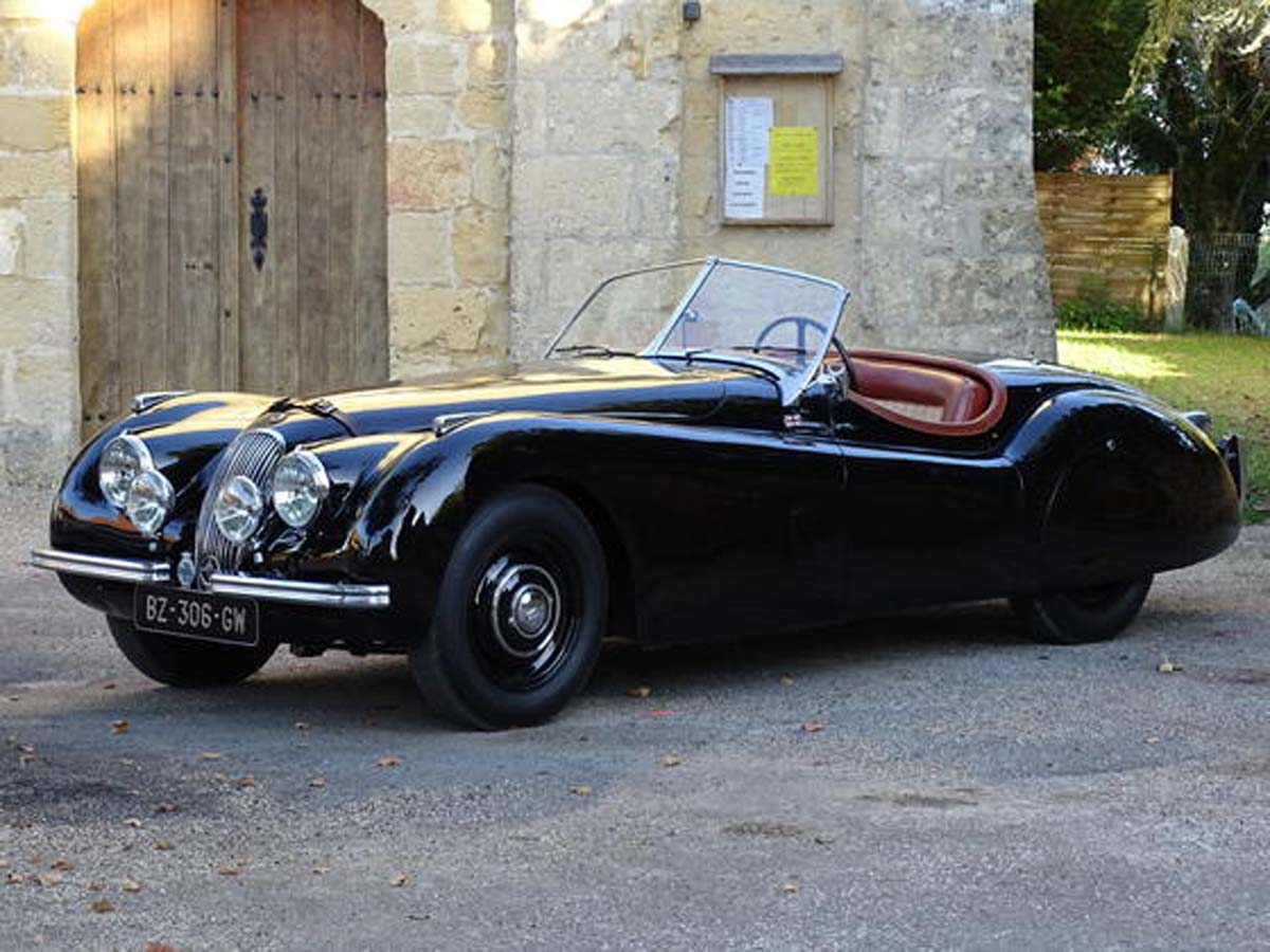 jaguar xk120 ots roadster classic racing annonces. Black Bedroom Furniture Sets. Home Design Ideas