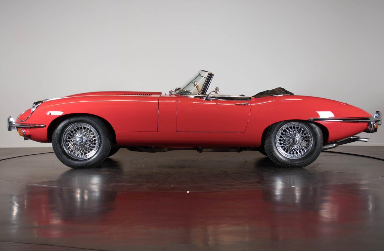 jaguar e type ii serie 4 2 spider classic racing annonces. Black Bedroom Furniture Sets. Home Design Ideas