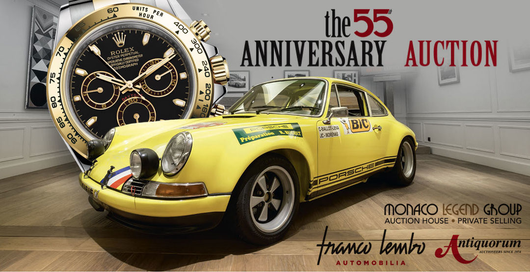 The 55 Anniversary Auction in Monaco