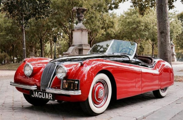 JAGUAR XK120 ROADSTER - 1953