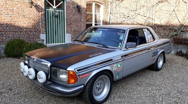 MERCEDES 280 CE RALLY