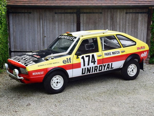 RENAULT 20 TURBO 4X4 - 1981