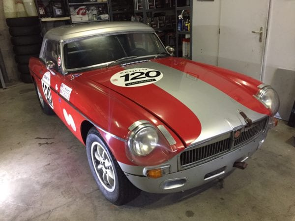 MGB FIA 1964