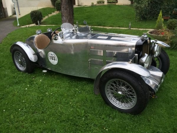 MG Q-TYPE SPORT SEATER 1939