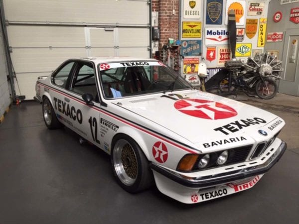 BMW 635 GROUP A USINE EX BAVARIA