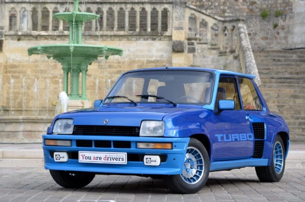 RENAULT R5 TURBO 1981