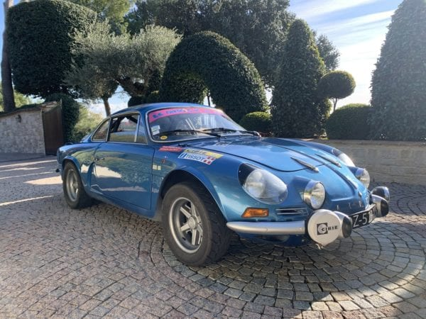ALPINE A110 1600 S GROUPE 4 VHC