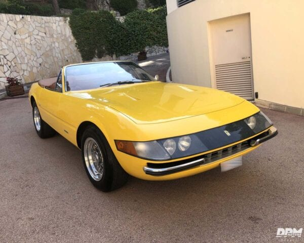 FERRARI 365 GTB4 DAYTONA SPIDER CONVERSION