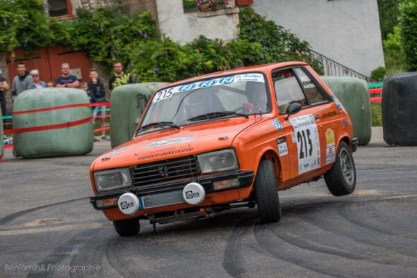 PEUGEOT 104 ZS GROUPE 2